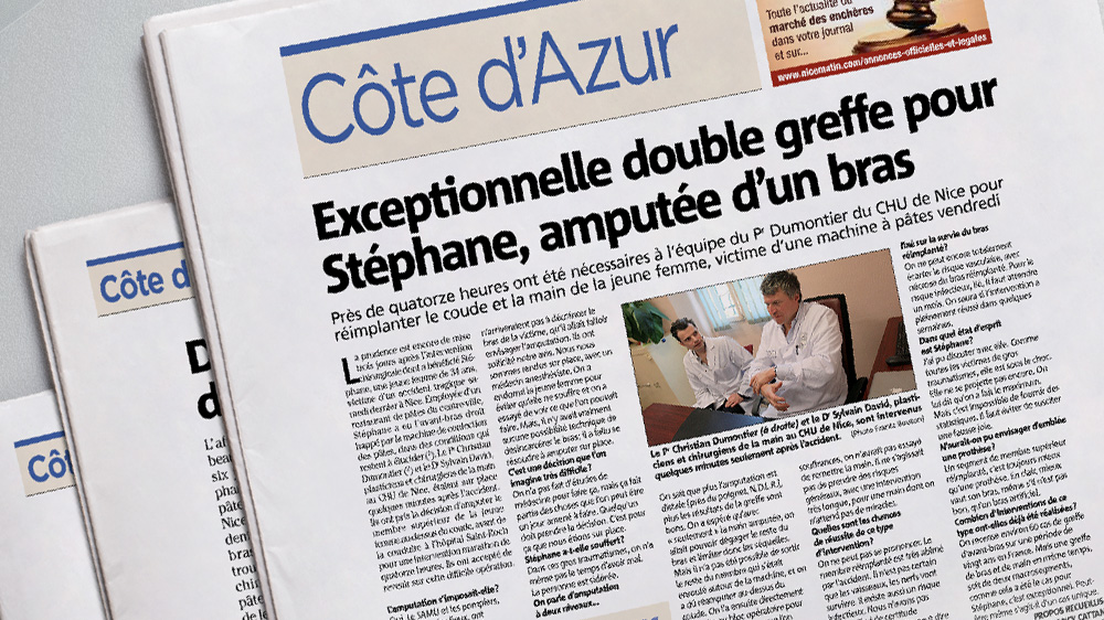 presse Nicematin Sylvain David